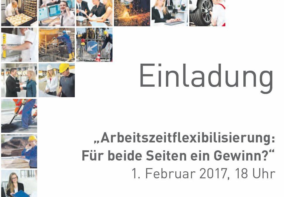 Andreas Derler-Klocker über Arbeitszeitflexibilisierung