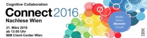 Veranstaltung: IBM Connect 2016