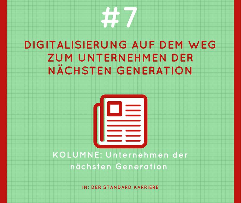 Digitalisierung auf dem Weg zum Unternehmen der nächsten Generation