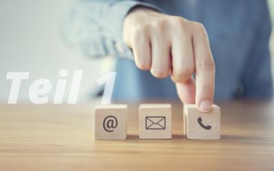 Die neuen Formen der Kundeninteraktion – Teil 1